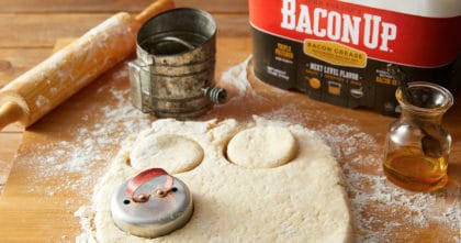 Bacon Up Biscuits
