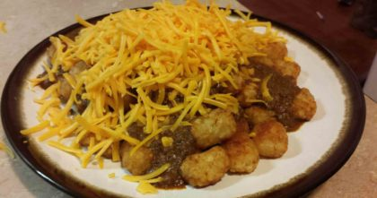 Chili-Cheese Tots