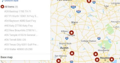 Available Now in Texas: 9 Buc-ee's Travel Centers