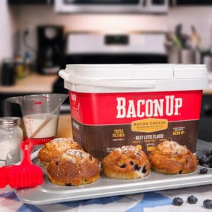 baking with Bacon Up Grease