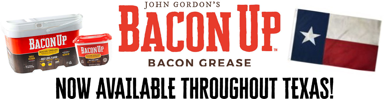 Bacon Up is Now Available Throughout Texas!
